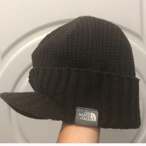 Northface hat brown
